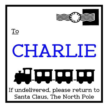 Santa Sack Design - Polar Express