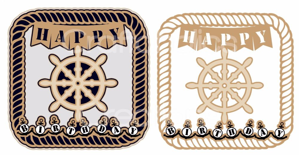 Nautical Rope Frame Topper