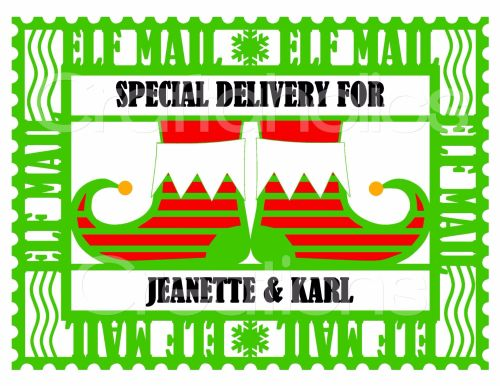 Christmas Eve Box Topper Design 3