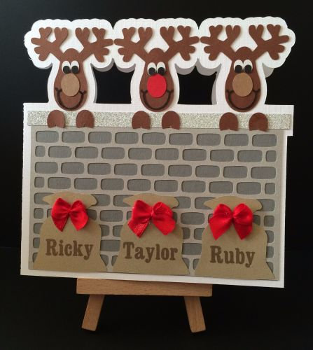 Reindeer Card with FREE Christmas Craft Kit