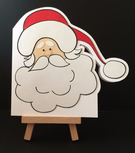 Santa Card with FREE Christmas Craft Kit