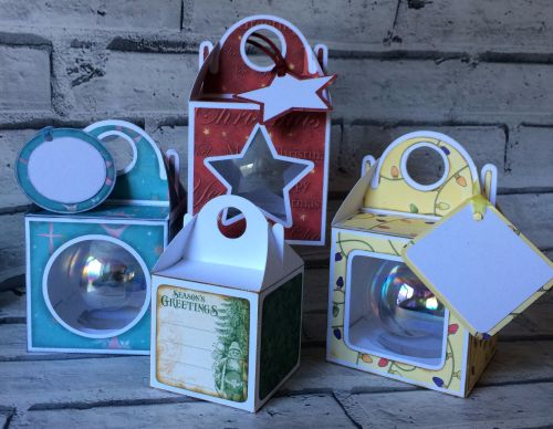 Set of 4 Bauble Boxes