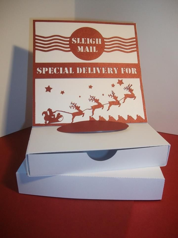 Special Delivery Easel Style Drawer Card with Box