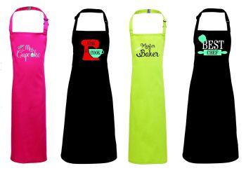 Set of 4 Apron Topper Designs