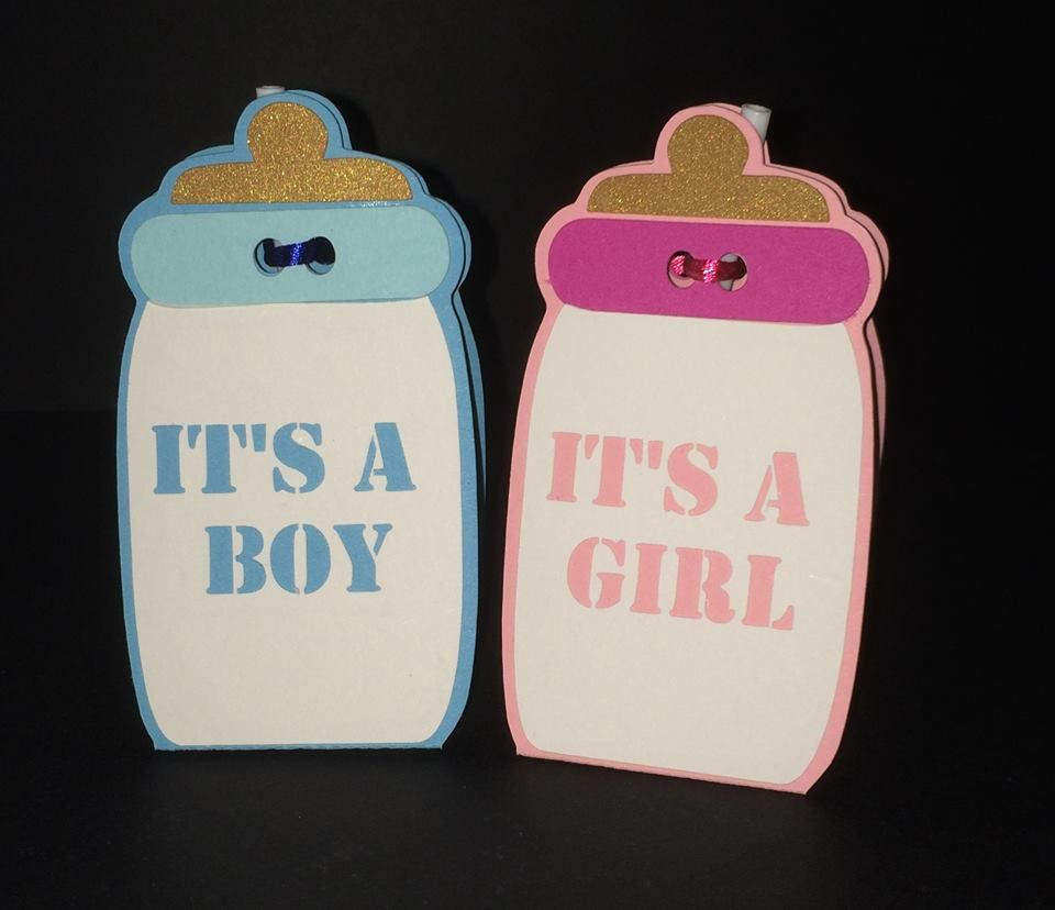 Baby Bottle Lollipop Holders