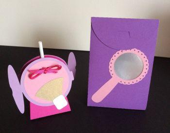 Girlie Lollipop Holder and Bag