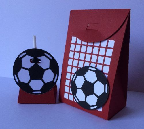 Football Lollipop Holder and Bag