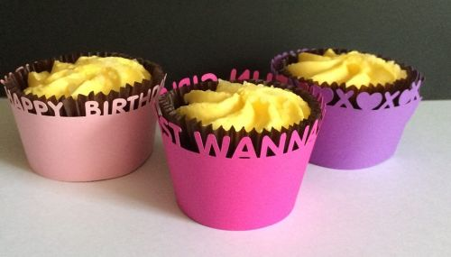 Girlie Cupcake Wrappers