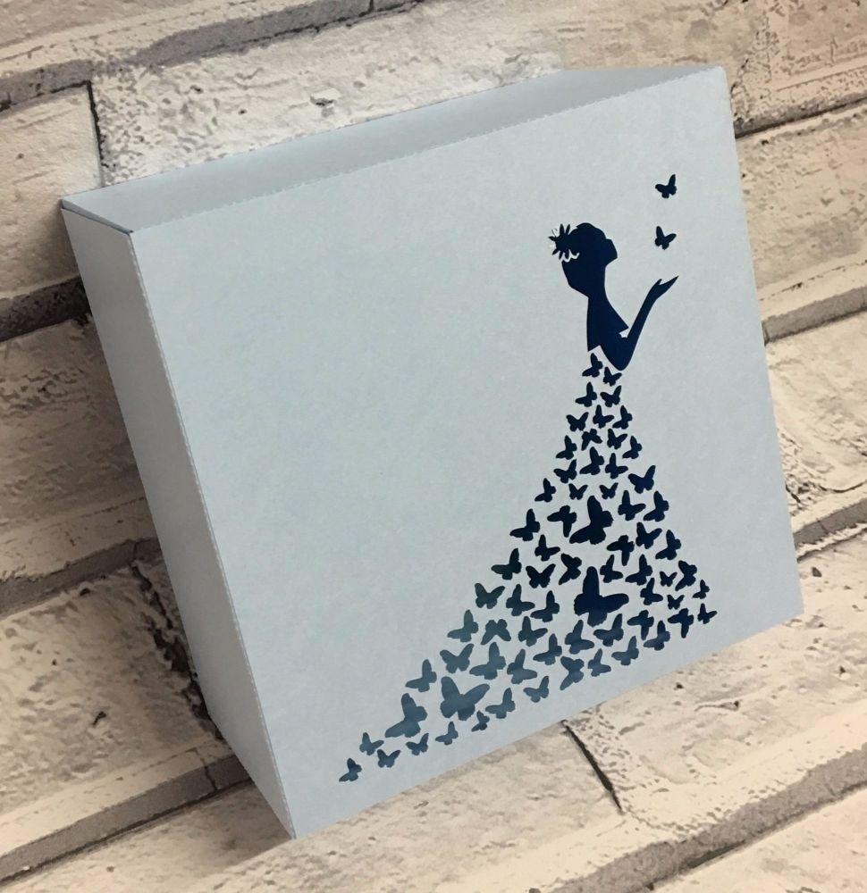 Butterfly Dress Light Box / Gift Box