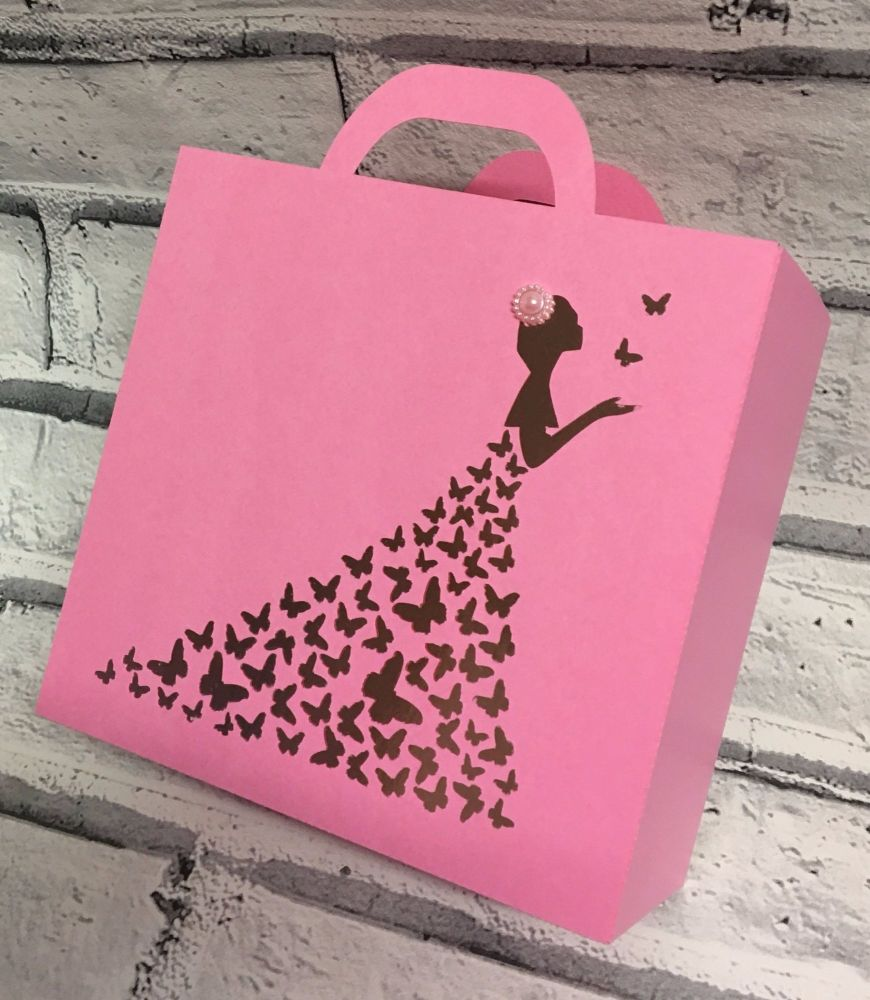 Butterfly Dress Gift Bag