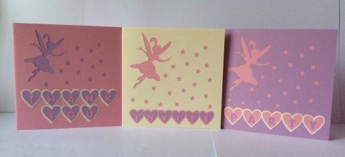 Set of 3 Fairy Cards