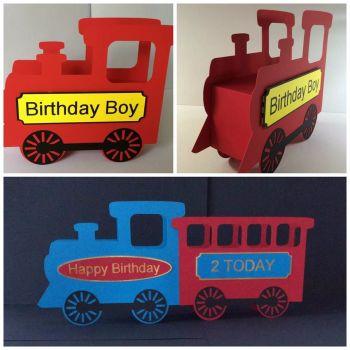 Easy 3D Train Box