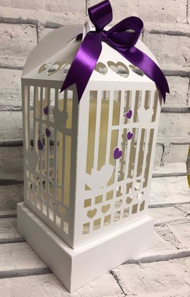 Bird Cage Table Decoration