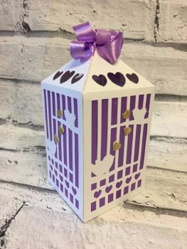 Bird Cage Party Favour Box