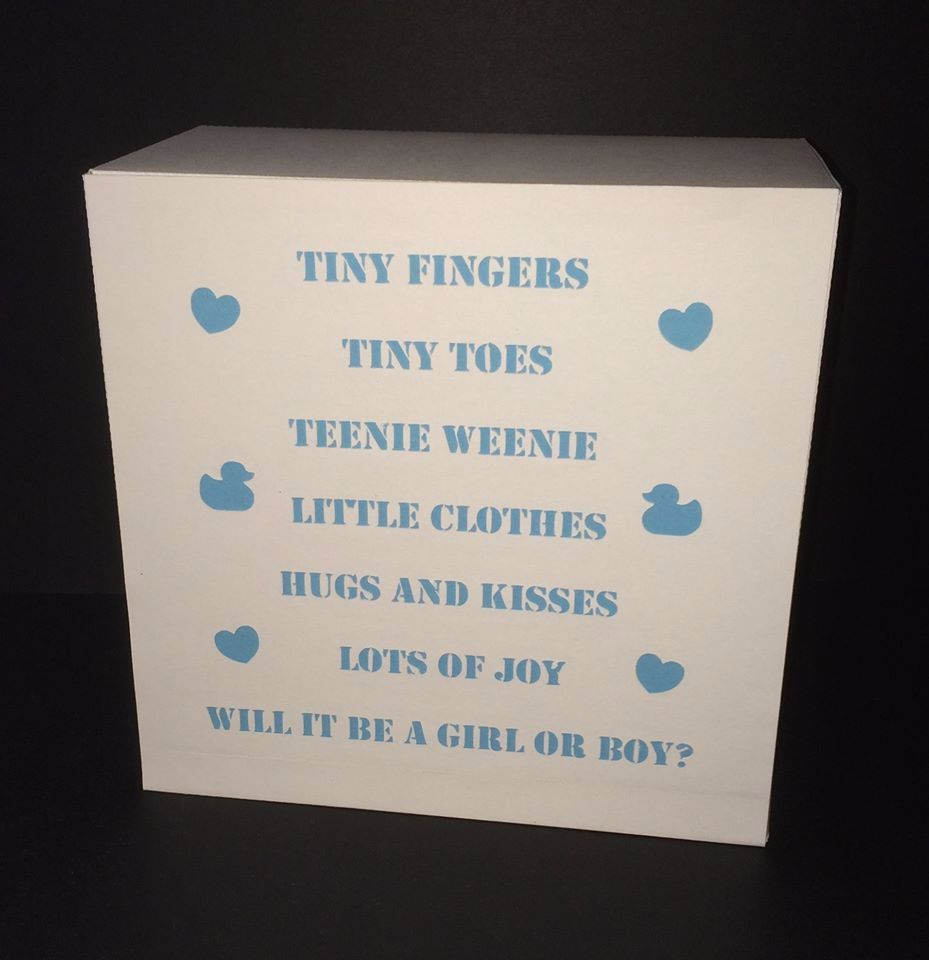 Baby Shower Light Box / Gift Box