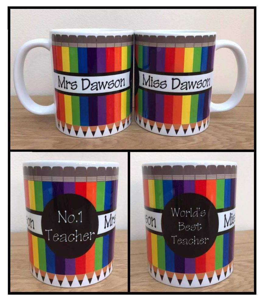 Teacher Mug Topper