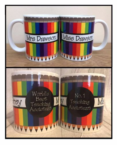 Teaching Assistant Mug Topper