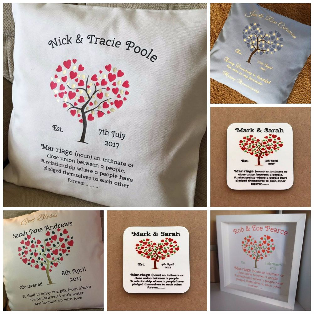 Christening, Wedding & Anniversary Designs for Personalisation