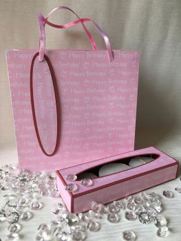 Set of Mini Boxes with Gift Bag