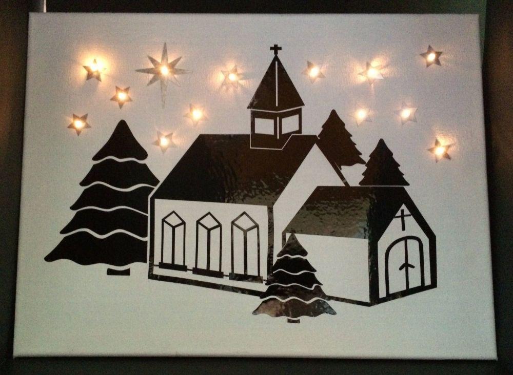 Winter Church Topper