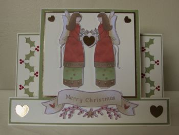 Angels Above Us Centre Panel Card