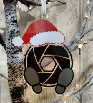 Santa's Watching for Acrylic Hangers & Paper Crafters