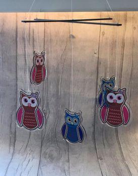 Hanging Mobile - MDF Straight Bar Option