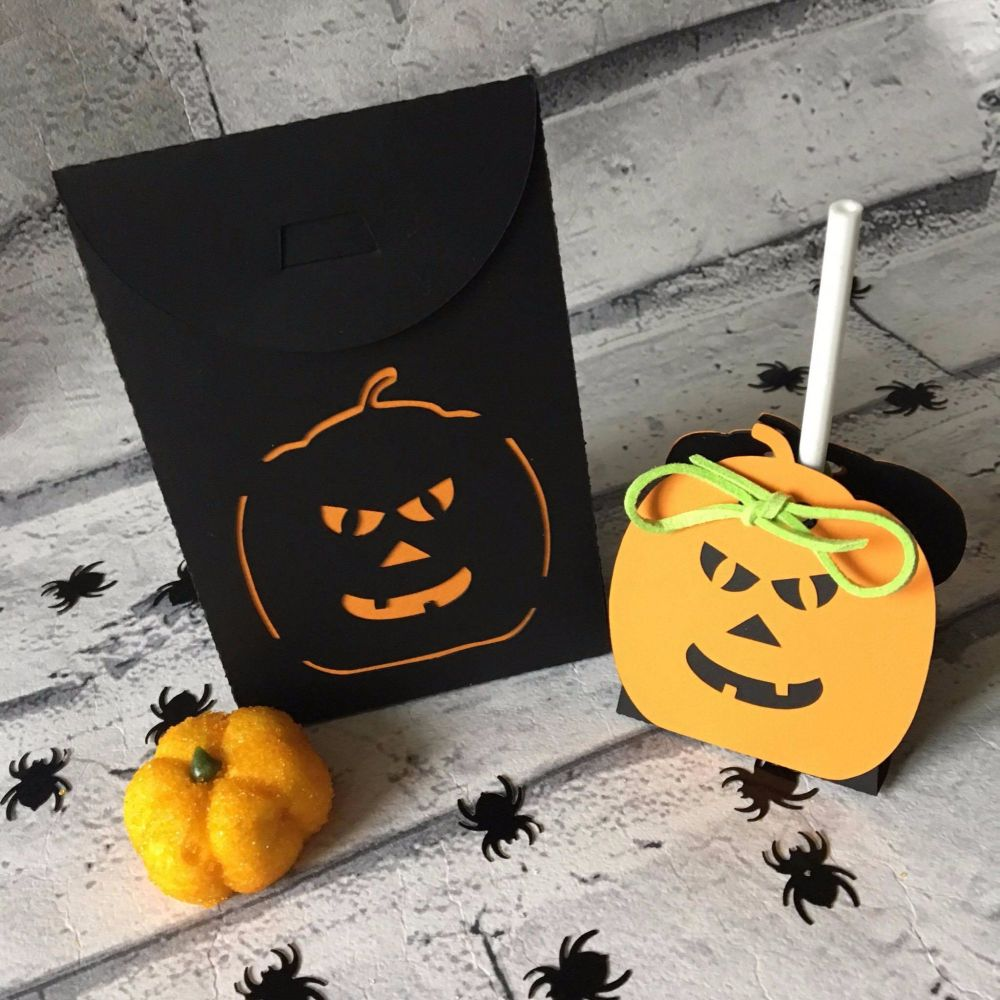 Halloween Sweetie Bag & Lollipop Holder