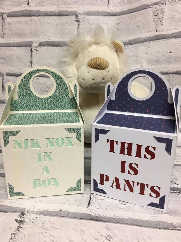 Nik Nox in a Box & This is Pants Gift Boxes