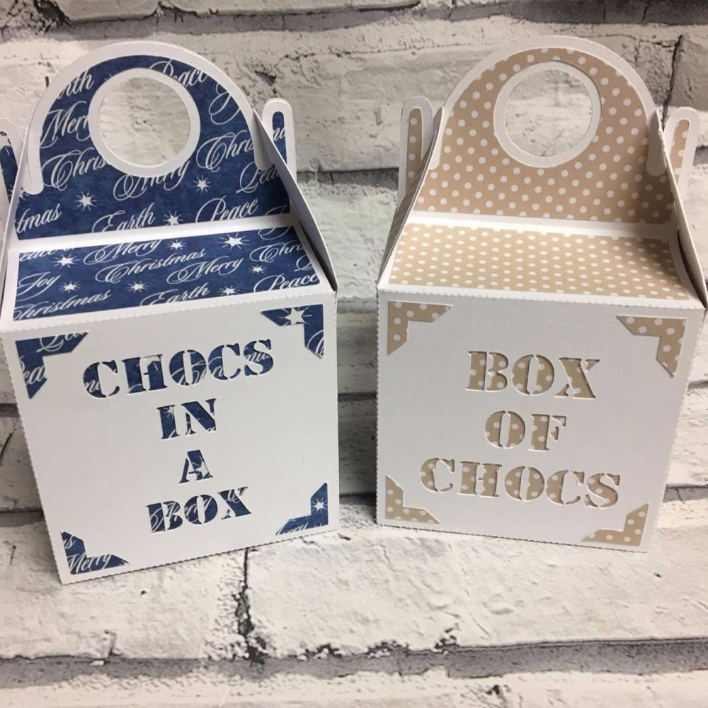Chocs in a Box & Box of Chocs Gift Boxes