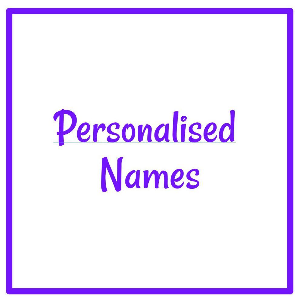 Personalised Names