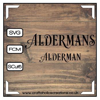 Alderman Aldermans in Desire Pro Font