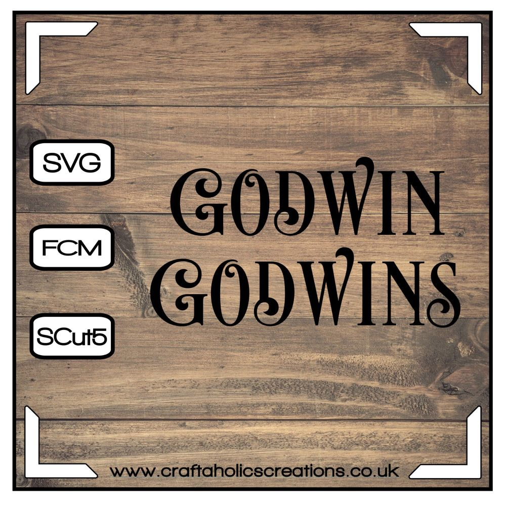 Godwin Godwins in Desire Pro Font