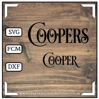Cooper Coopers in Desire Pro Font