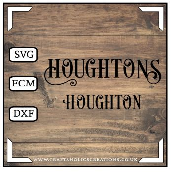 Houghton Houghtons in Desire Pro Font