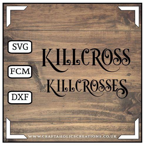 Killcross Killcrosses in Desire Pro Font