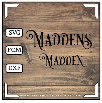 Madden Maddens in Desire Pro Font