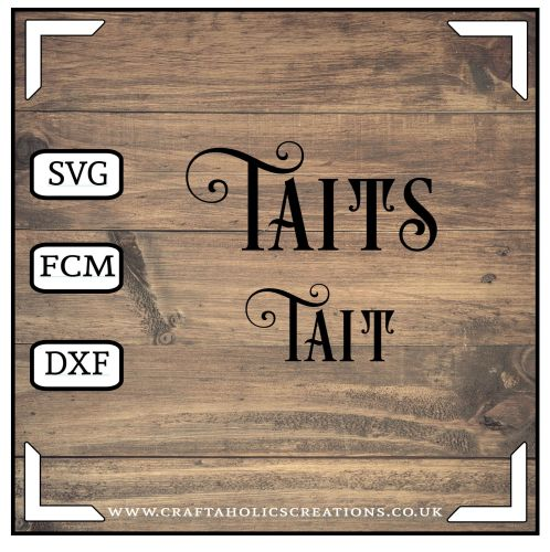Tait Taits in Desire Pro Font