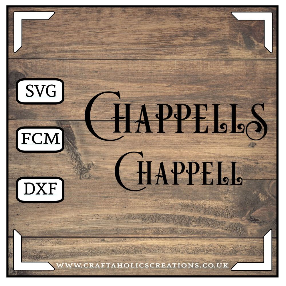 Chappell Chappells in Desire Pro Font