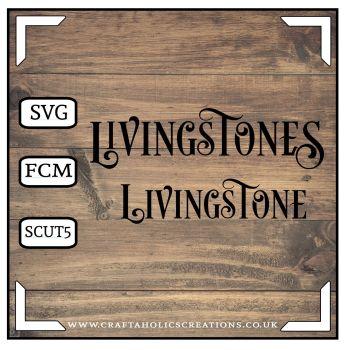 Livingstone Livingstones in Desire Pro Font
