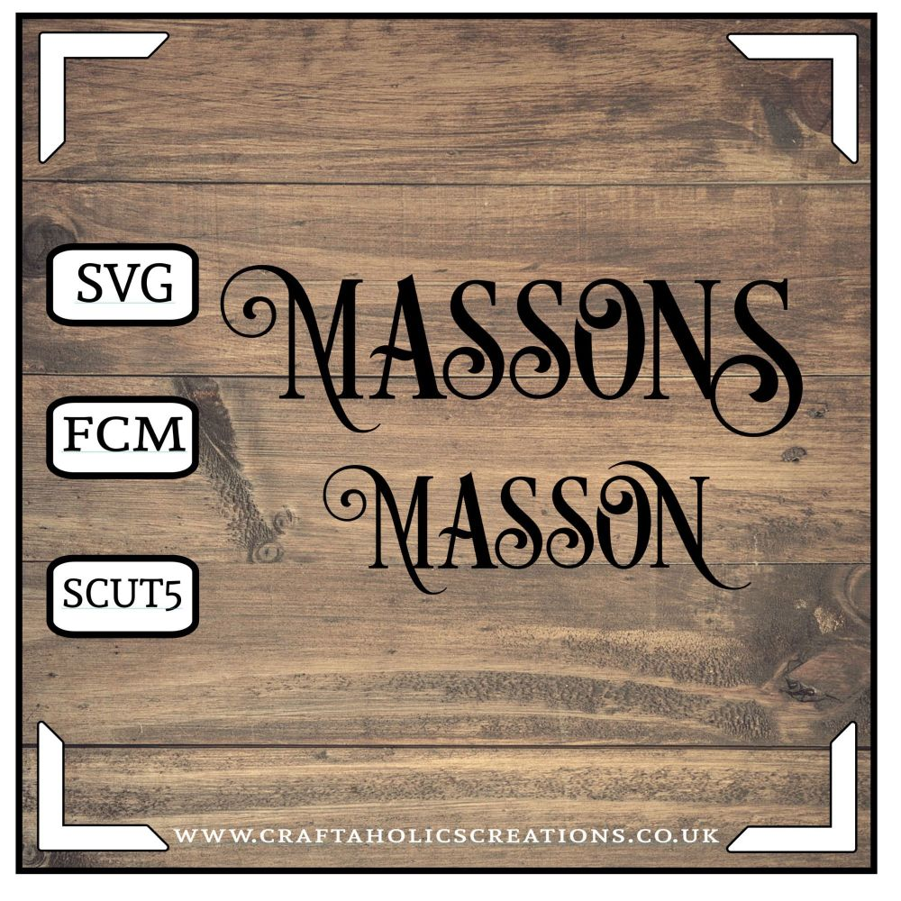 Masson Massons in Desire Pro Font