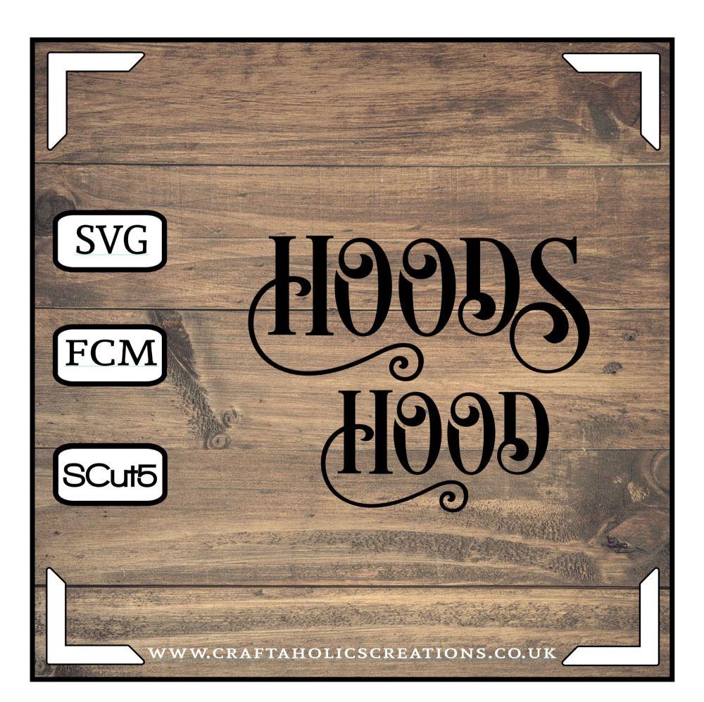 Hood Hoods in Desire Pro Font