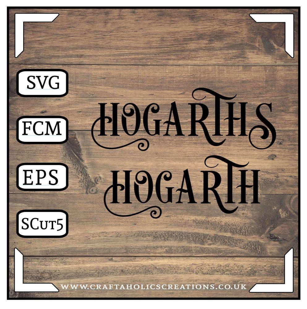 Hogarth Hogarths in Desire Pro Font