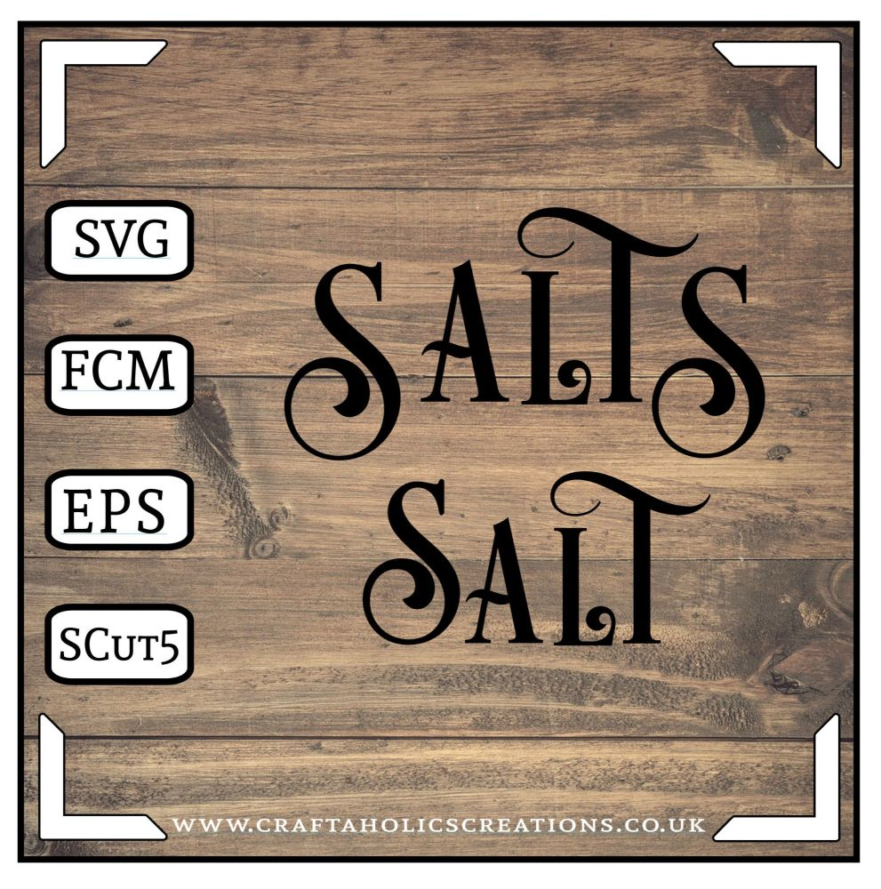 Salt Salts in Desire Pro Font