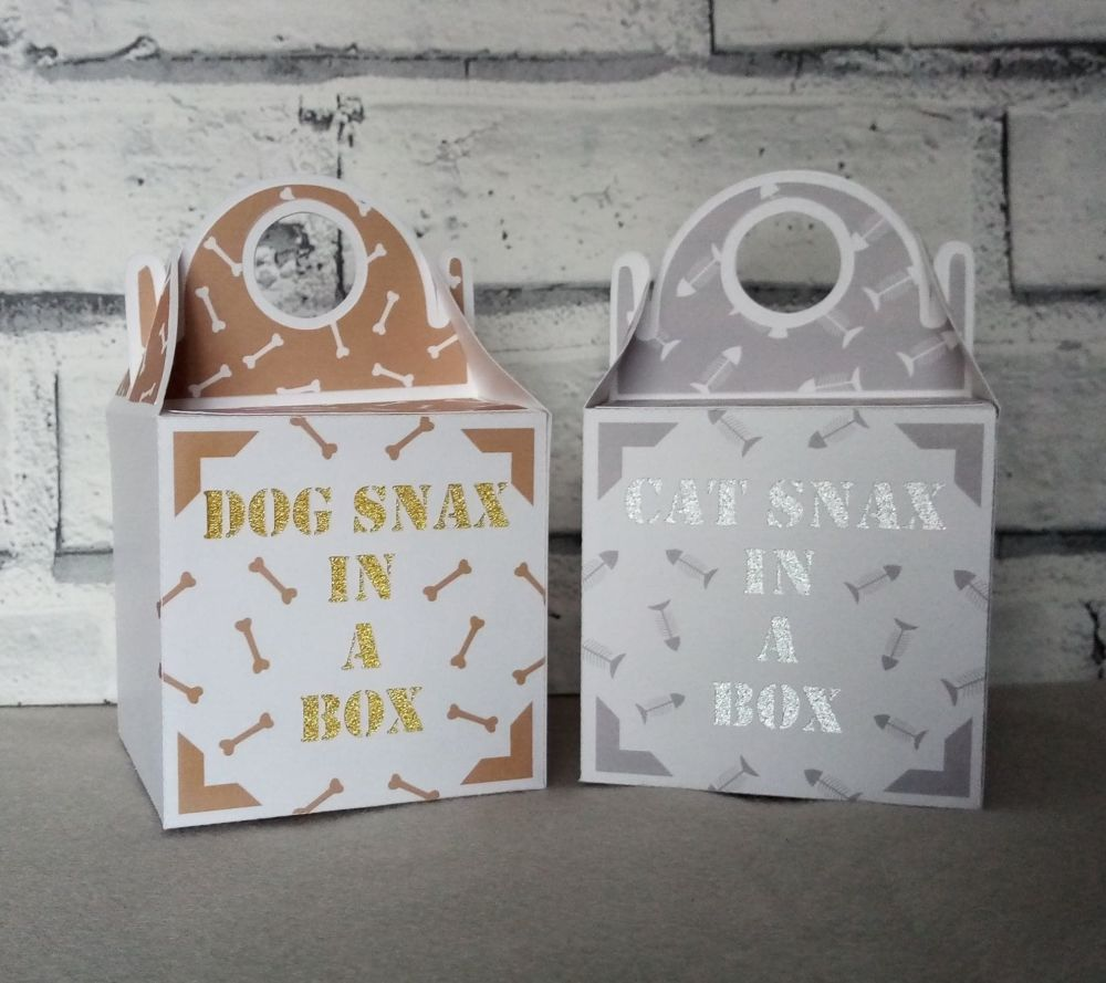 Cat Snax in a Box & Dog Snax in a Box
