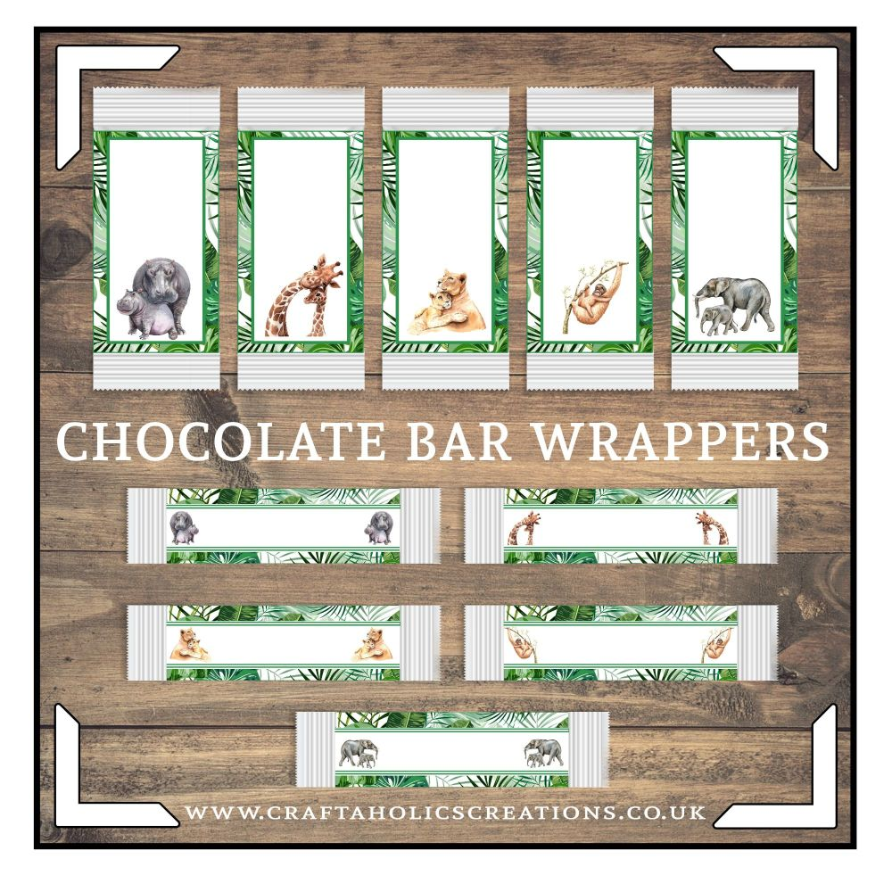 Wildlife Chocolate Wrapper Collection SET 1