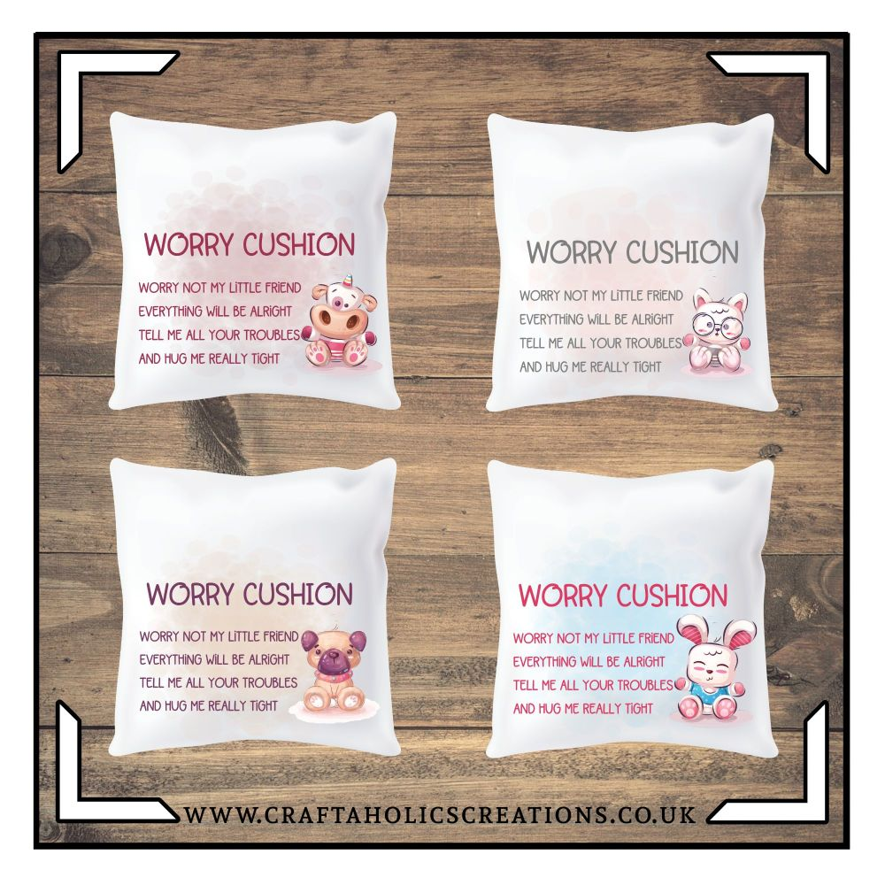 Worry Cushion - Cute