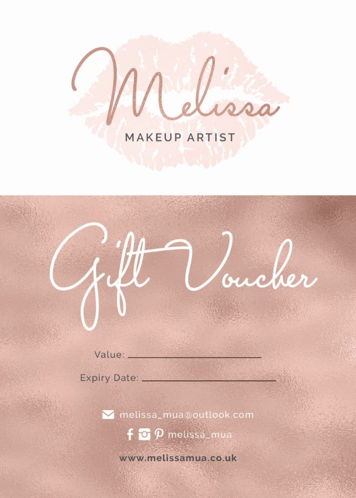 Occasion Makeup Gift Vouchers
