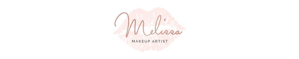 Melissa MUA, site logo.