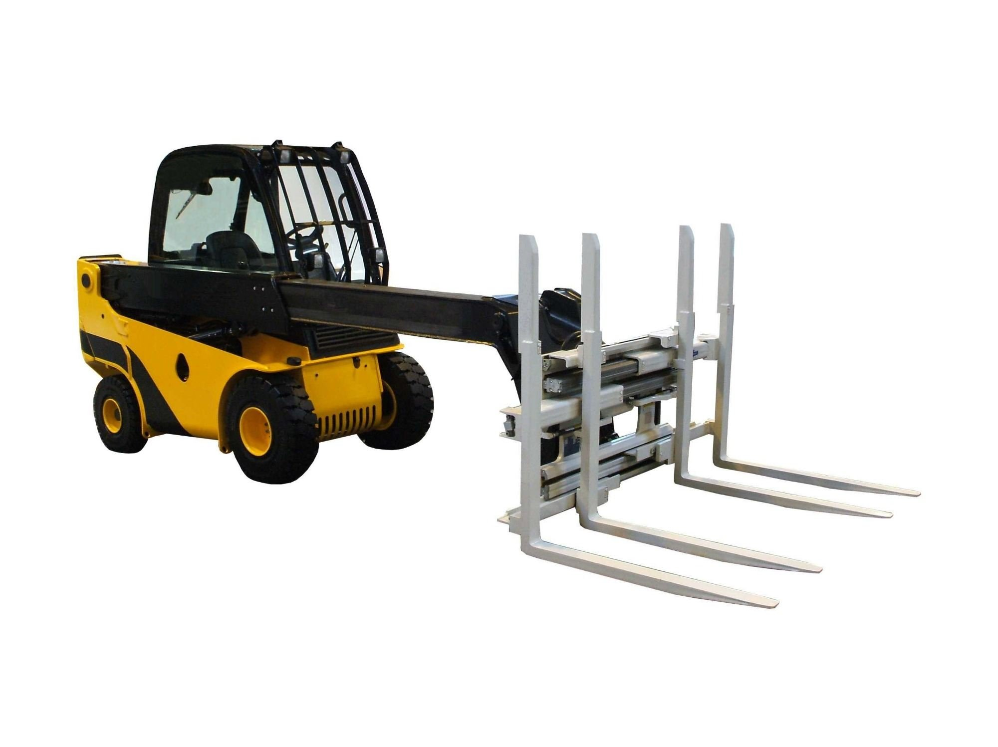 Telescopic fork lift training with Tamar valley Training